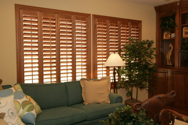 Ovation Shutters In A Las Vegas Living Room.